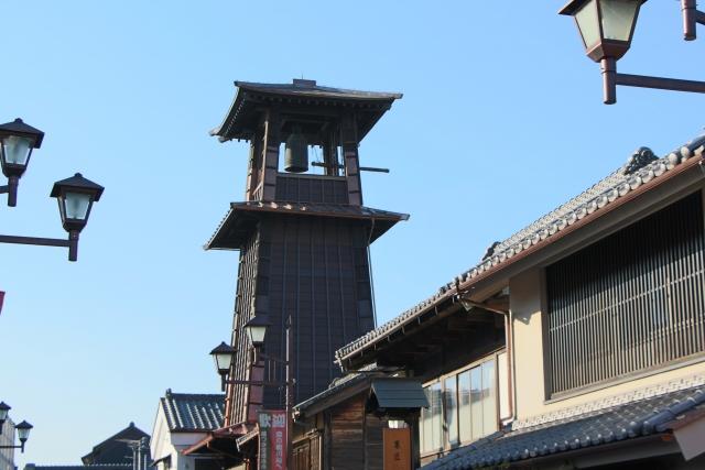 埼玉県川越市のイメージ(時の鐘)