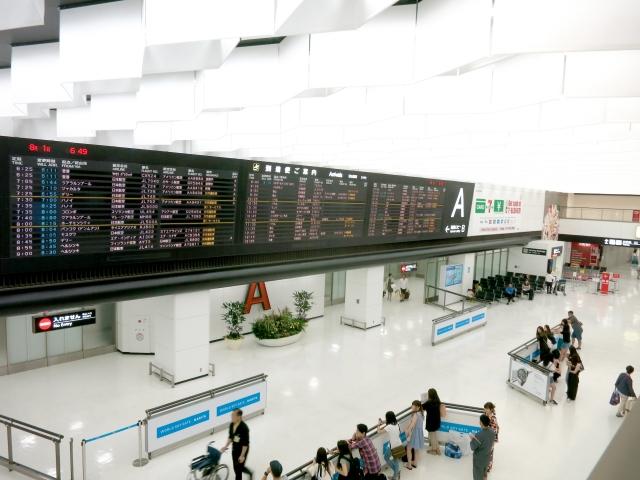 千葉県成田市のイメージ(成田空港)